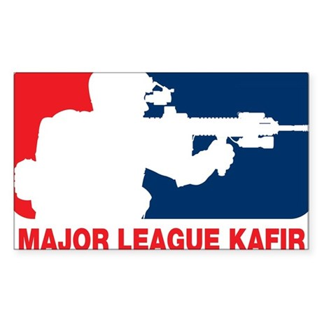 Major League Kafir Sticker (Rectangle)