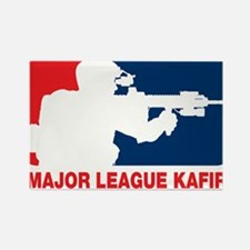 Major League Kafir Rectangle Magnet