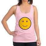 Happy Face Smiley Racerback Tank Top
