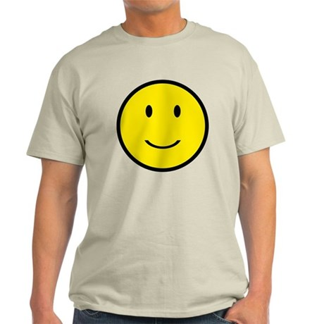Happy Face Smiley Light T-Shirt