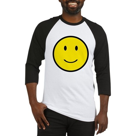 Happy Face Smiley Baseball Jersey