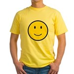 Happy Face Smiley Yellow T-Shirt