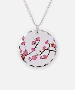 flowering quince Necklace