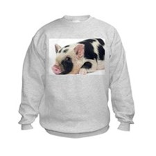 Micro pig chilling out Sweatshirt