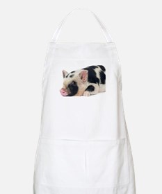 Micro pig chilling out Apron