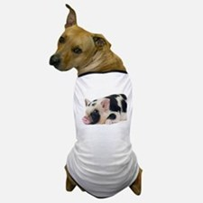 Micro pig chilling out Dog T-Shirt