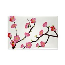 flowering quince Rectangle Magnet (100 pack)