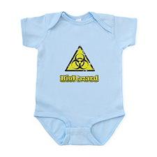 Vintage Biohazard cp 2.png Infant Bodysuit