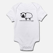 Lord's my shepherd Infant Bodysuit