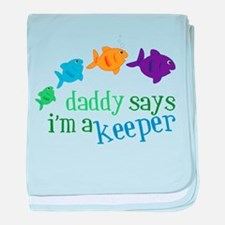 Im A Keeper baby blanket