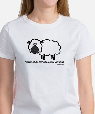 Lord's my shepherd Women's T-Shirt