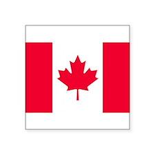 "Canadian flag sticker (5""x3"") Sticker"