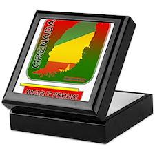 Grenada Wear It Proud Keepsake Box