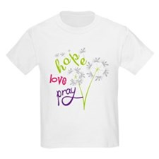 Hope Love Pray T-Shirt