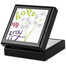 Hope Love Pray Keepsake Box