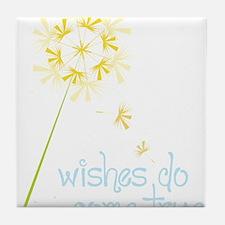Wishes Tile Coaster