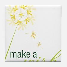 Make A Wish Tile Coaster