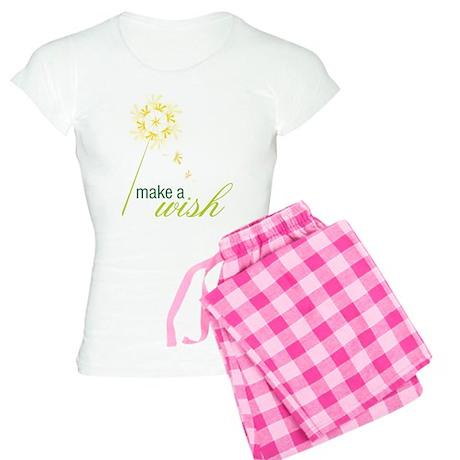 Make A Wish Women's Light Pajamas