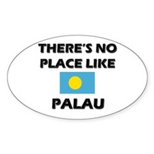 There Is No Place Like Palau Oval Stickers