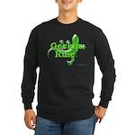 Geckos Rule Long Sleeve Dark T-Shirt