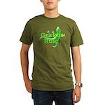 Geckos Rule Organic Men's T-Shirt (dark)