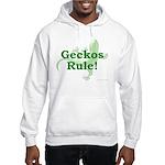 Geckos Rule Hooded Sweatshirt