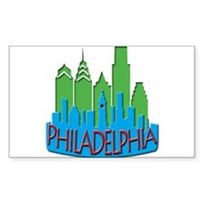 Philly Skyline Newwave Primary Decal