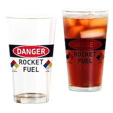 Cute Rocket Drinking Glass