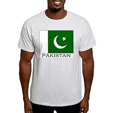 Flag of Pakistan Ash Grey T-Shirt
