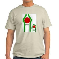 Proud Father Ash Grey T-Shirt