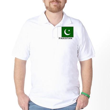 Flag of Pakistan Golf Shirt