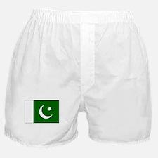Pakistan Flag Picture Boxer Shorts