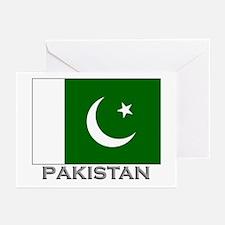 Pakistan Flag Stuff Greeting Cards (Pk of 10)