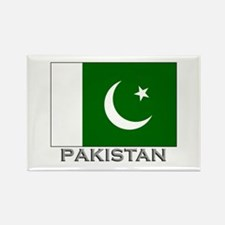 Pakistan Flag Stuff Rectangle Magnet