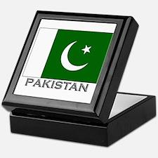Pakistan Flag Stuff Keepsake Box