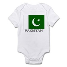 Pakistan Flag Stuff Infant Bodysuit