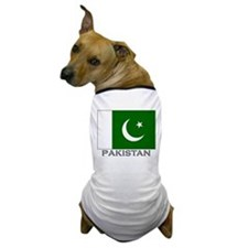Pakistan Flag Stuff Dog T-Shirt
