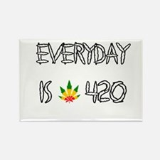 Everyday Is 420 Rectangle Magnet