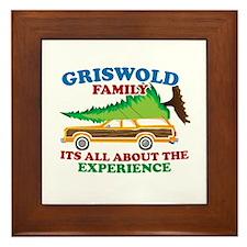Griswold Family Christmas Tree Framed Tile