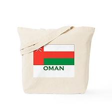 Flag of Oman Tote Bag