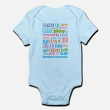 Rhythmic Gymnast Infant Bodysuit