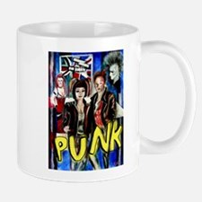 Punk rock music alternative art with graffiti Mug