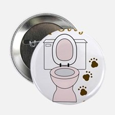 "Potty Animal 2.25"" Button"