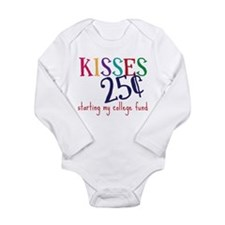 My College Fund Long Sleeve Infant Bodysuit