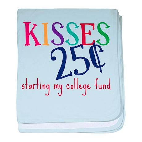 My College Fund baby blanket