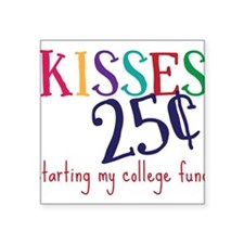 "My College Fund Square Sticker 3"" x 3"""