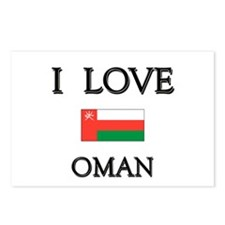 I Love Oman Postcards (Package of 8)
