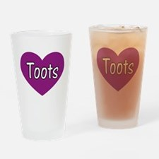 Toots Drinking Glass