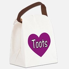 Toots Canvas Lunch Bag