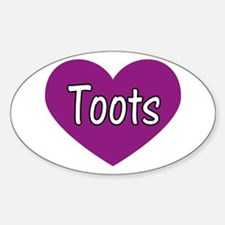 Toots Decal